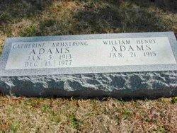 Catherine <i>Armstrong</i> Adams