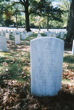 Corp Harold Ray Burton