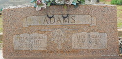 Jettie Gerome Adams