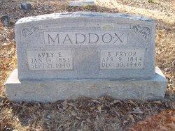 Benjamin Pryor Maddox, Jr