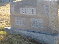 Eulala A. <i>Lee</i> Agee