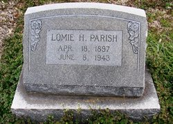 Lomie H. <i>Waugh</i> Parish