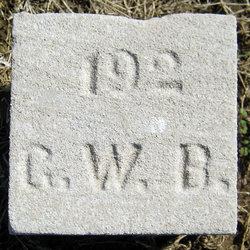 Pvt George W. Blankenship