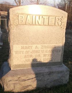 Mary Arazona <i>Zimmer</i> Bainter