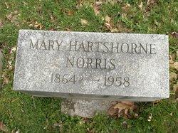 Mary <i>Hartshorne</i> Norris