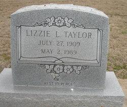 Elizabeth Lizzie <i>Love</i> Taylor