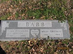 Fama Reynolds <i>Hudson</i> Babb
