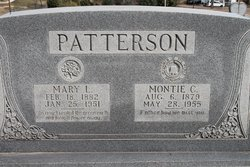 Mary <i>Saunders</i> Patterson