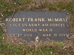 Robert Frank McMikle