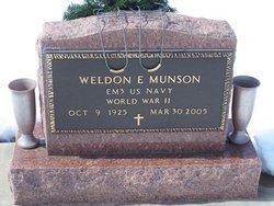 Weldon Eugene Munson