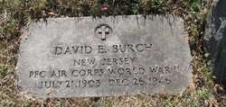 PFC David E Burch