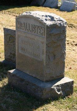 Samuel P McAllister