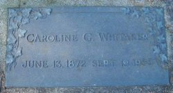 Caroline G Whitaker