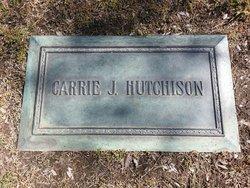 Carrie Jane <i>Moffit</i> Hutchison