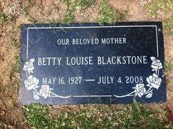 Betty Louise Blackstone