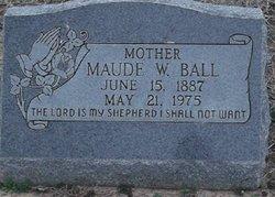 Maude W. <i>Whittenberg</i> Ball