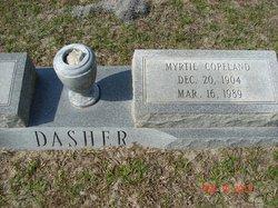 Myrtie <i>Copeland</i> Dasher