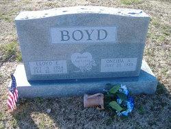 Lloyd E. Boyd