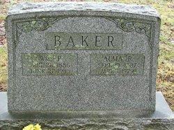 Alma T <i>Reed</i> Baker