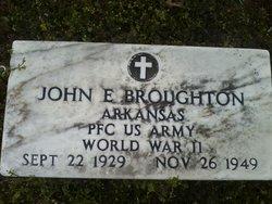 John E Broughton