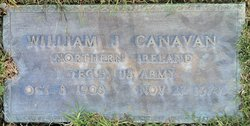 William J Canavan