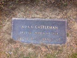 Ada Ulery Castleman