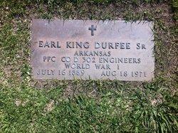 Earl King Durfee, Sr