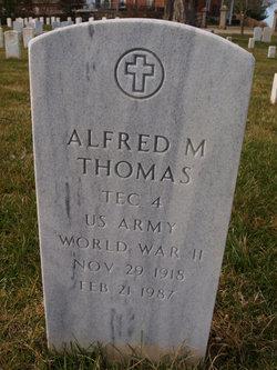 Alfred M Thomas