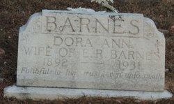 Dora Ann <i>Morgan</i> Barnes