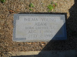 Wilma <i>Young</i> Adam
