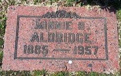 Minnie Belle <i>Edens</i> Aldridge