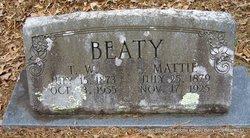 Mattie <i>Holloway</i> Beaty