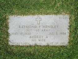 Audrey A Hensley