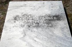 Rhoda A Parker