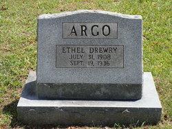 Ethel Ann <i>Drewry</i> Argo