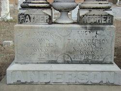 Lucy Lee <i>Tarpley</i> Anderson