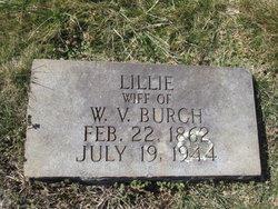 Lillie Virginia <i>Woodruff</i> Burch