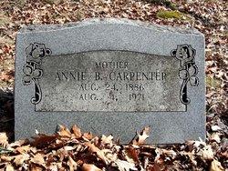 Annie Belle <i>McFee</i> Carpenter