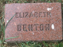 Elizabeth Preston <i>McDowell</i> Benton