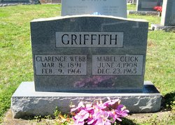 Lucy Mabel <i>Click</i> Griffith