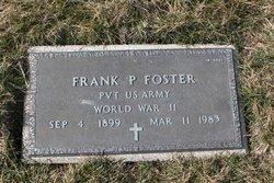 Frank P Foster