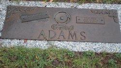 Ora Mae <i>Lawrence</i> Adams