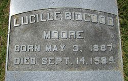 Lucille <i>Bidgood</i> Moore