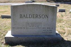 Roy Danton Balderson