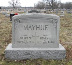 Grace W <i>Waters</i> Mayhue