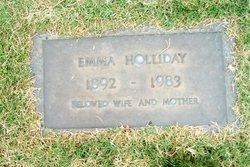 Emma Katherine <i>Thiel</i> Holliday
