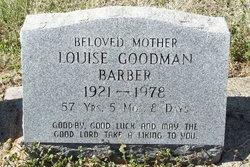 Louise <i>Goodman</i> Barber