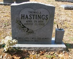 Thomas J Tom Hastings