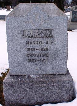 Mandel J Larson