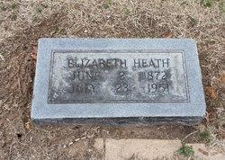 Elizabeth <i>Adams</i> Heath
